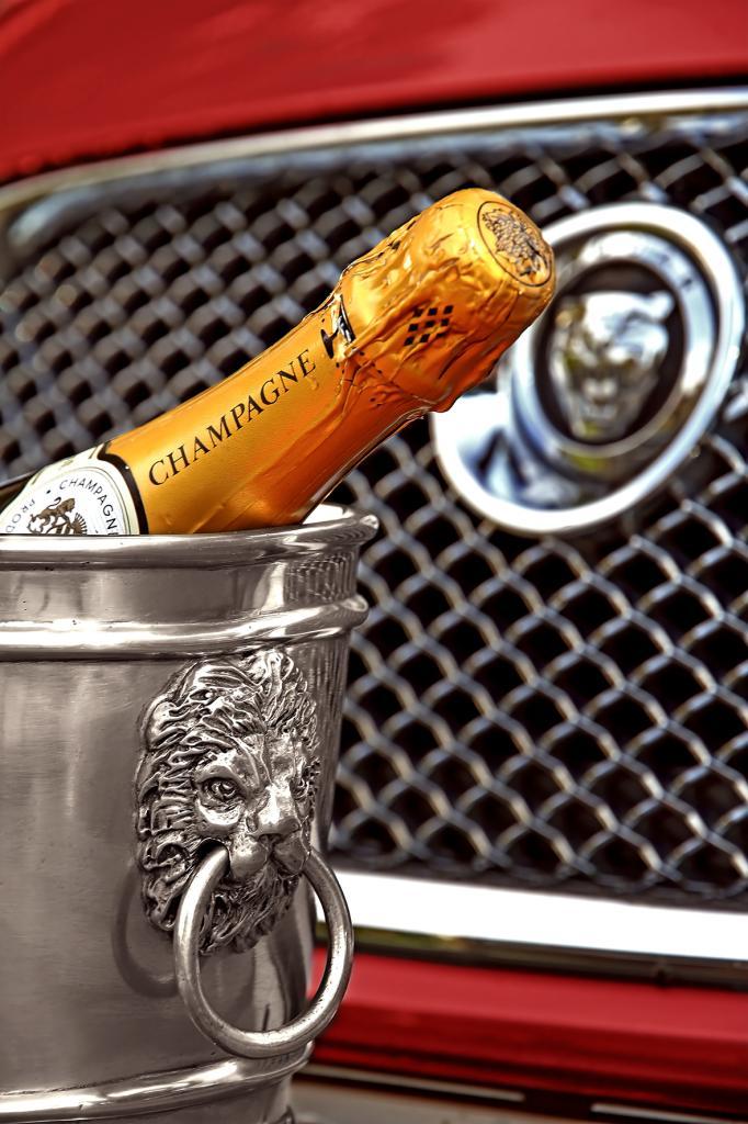 Läckö, vinkylare/ytterkruka i tenn (stor modell) från Munka Sweden