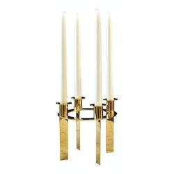Ljusstake med 4 ljus för alla tillfällen och Advent