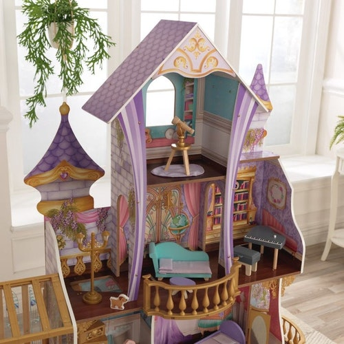ENCHANTED GREENHOUSE CASTLE WITH EZ KRAFT ASSEMBLY