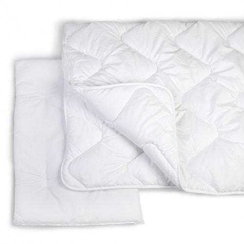 Täcke och kudde