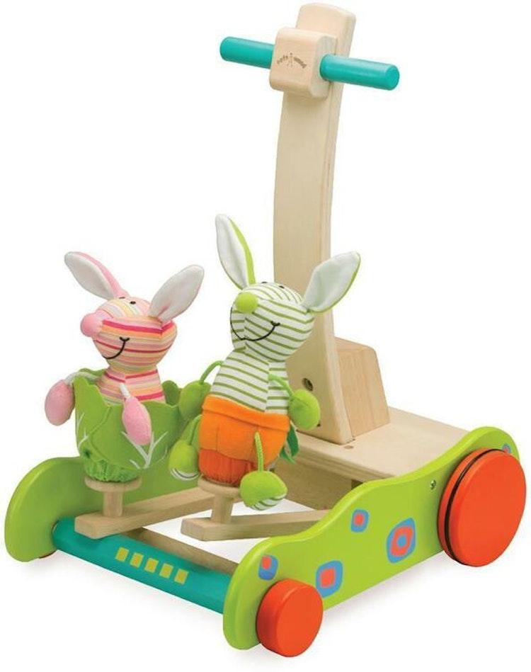 Vagn med kaniner