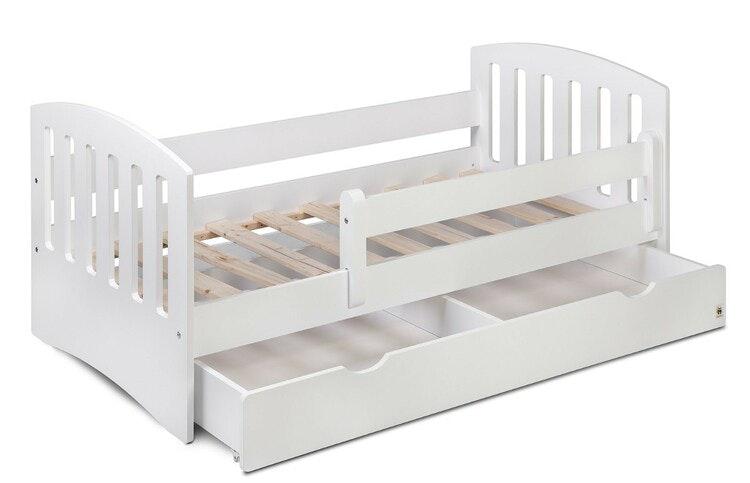 Barnsäng - madrass - lakan 160x80, vit