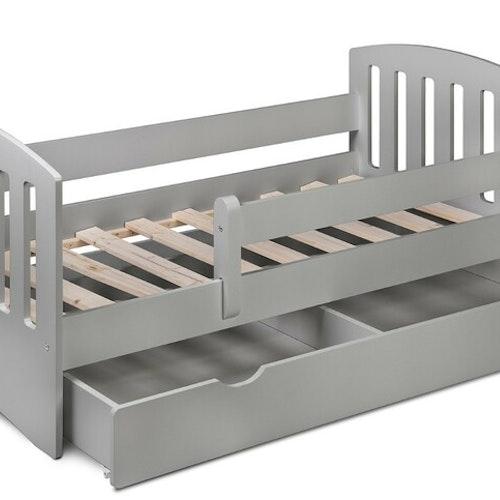 Barnsäng - madrass - lakan 160x80- LightGrey