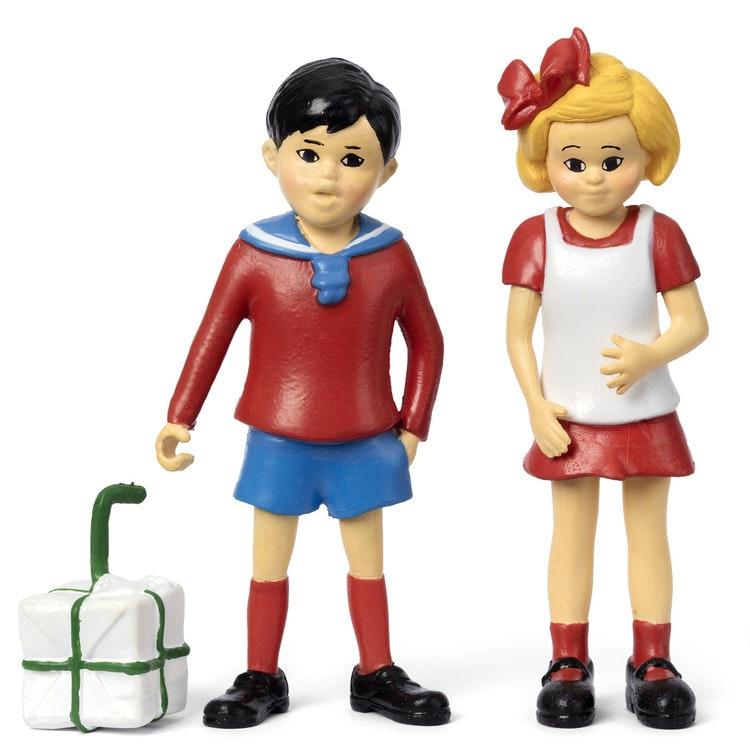 PIPPI FIGURSET - TOMMY & ANNIKA