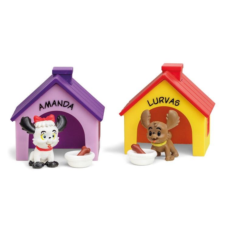 BAMSE FIGURSET - AMANDA & LURVAS