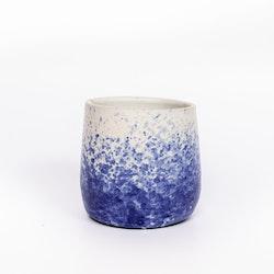 Morning Coffee Dark Blue Cup