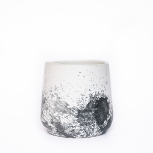 Morgon Coffee Cup Grey & Black