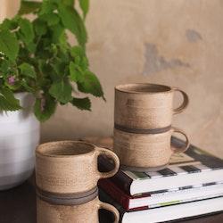 Birdman's Home Beige Mug
