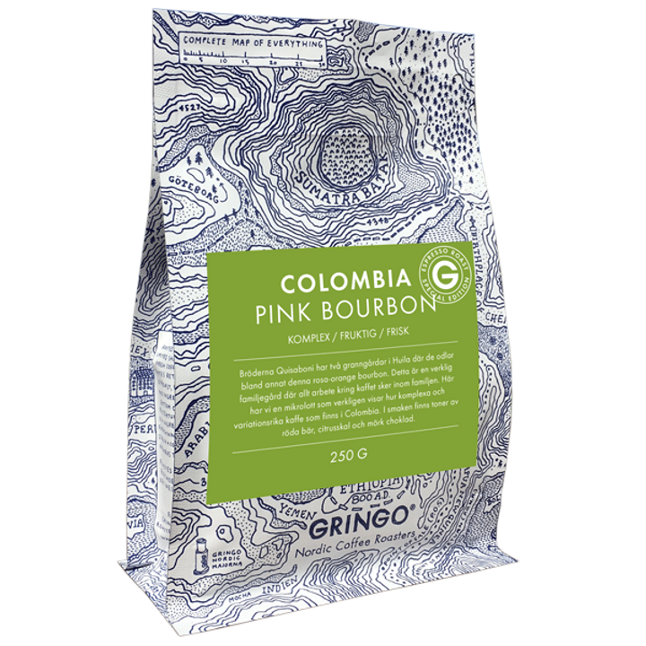 NEW! Espresso Roast Edition Colombia Pink Bourbon