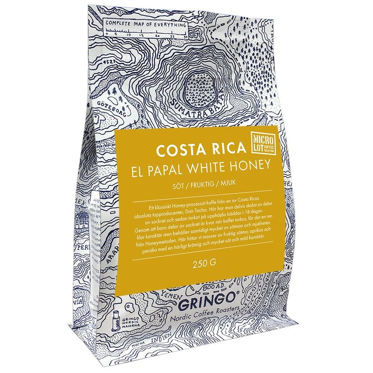 Costa Rica El Papal White Honey - Gringo Nordic