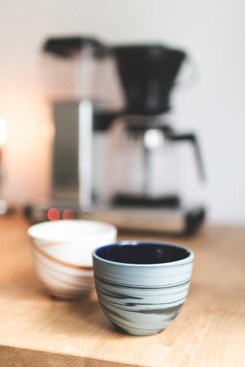 Bisqit Ceramics - Two cups