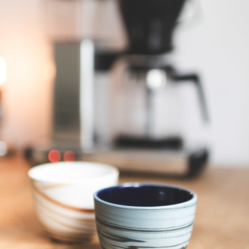 Bisqit Ceramics - Two cups