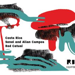 Senel and Allan Compos - Costa Rica - Ritu Coffee Roasters
