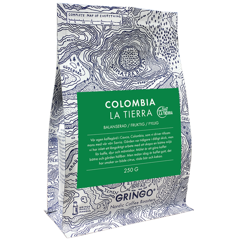 Colombia La Tierra - Washed Process - Gringo Nordic