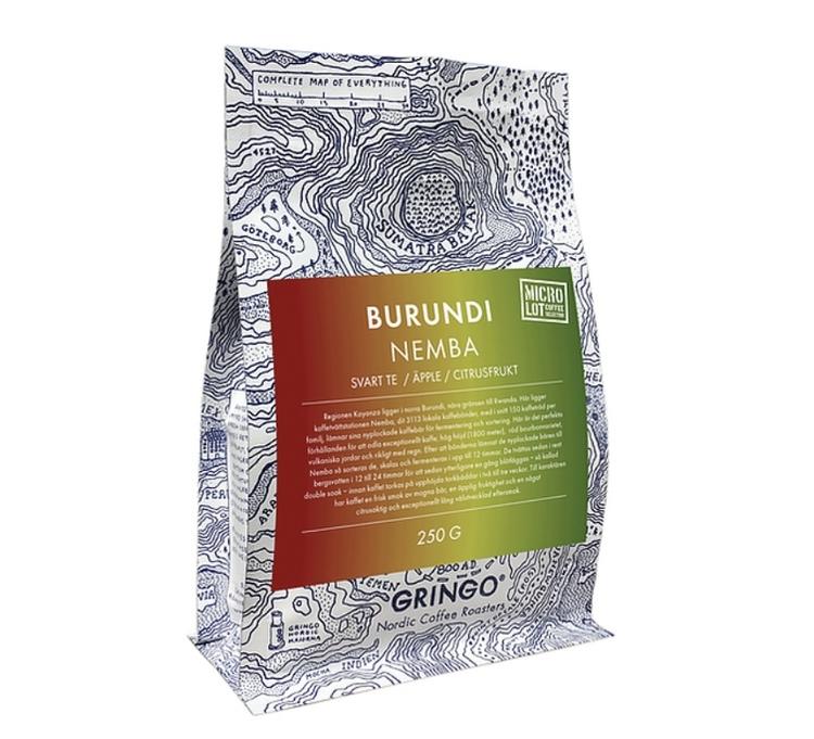 Burundi Nemba, Rwanda - Washed Red Bourbon - Gringo Nordic