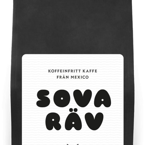 Sova Räv - Decaffinated Coffee - Washed  Mexico - Kafferäven