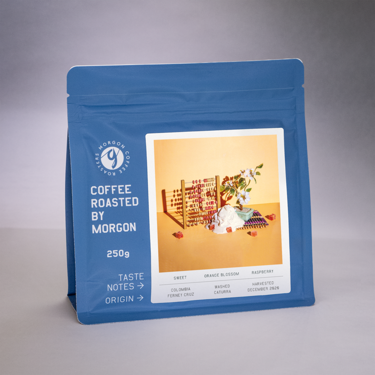 Ferney Cruz - Washed - Colombia, Tarqui - Morgon Coffee Roasters