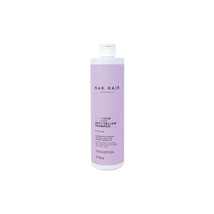NAK Platinum Blonde Anti-Yellow Shampoo 375ml