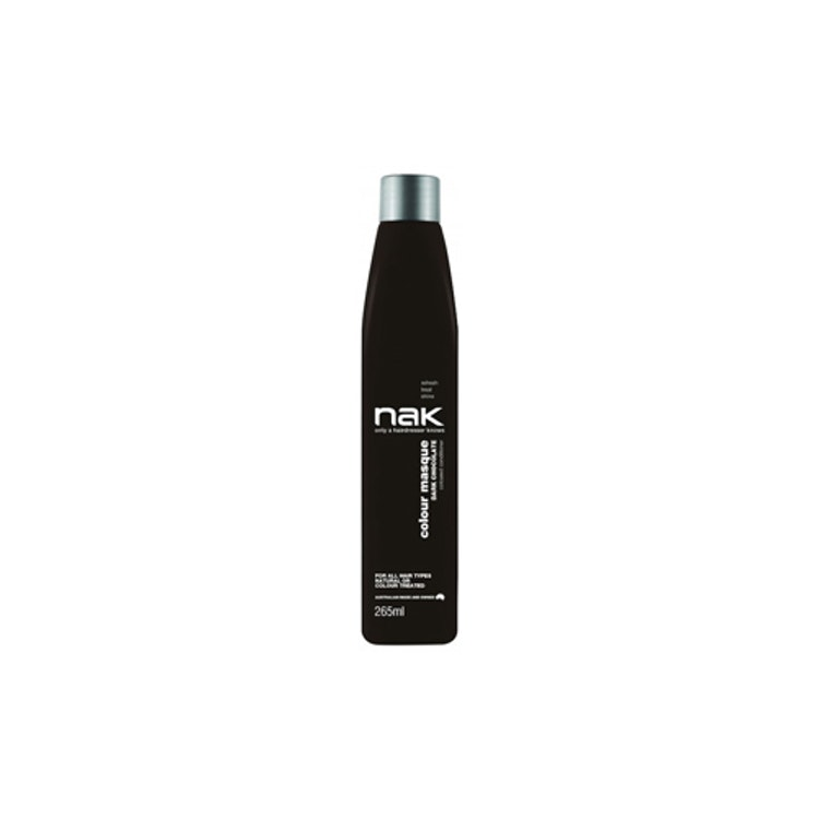 NAK Colour Masque - Dark Chocolate 265ml