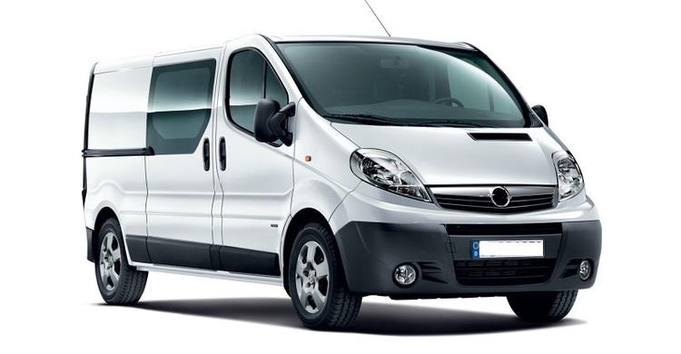 Solfilm til Opel Vivaro Van.