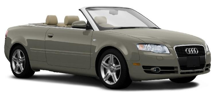 Solfilm til Audi A4 cabriolet. Ferdig tilpasset solfilm til alle Audi biler.