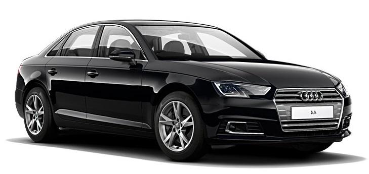 Solfilm til Audi A4 Sedan. Ferdig tilpasset solfilm til alle Audi biler.
