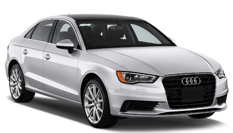Solfilm til Audi A3 sedan. Ferdig tilpasset solfilm til alle Audi biler.