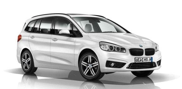 Solfilm til BMW 2-serie Gran Tourer. Ferdig tilpasset solfilm til alle BMW biler.