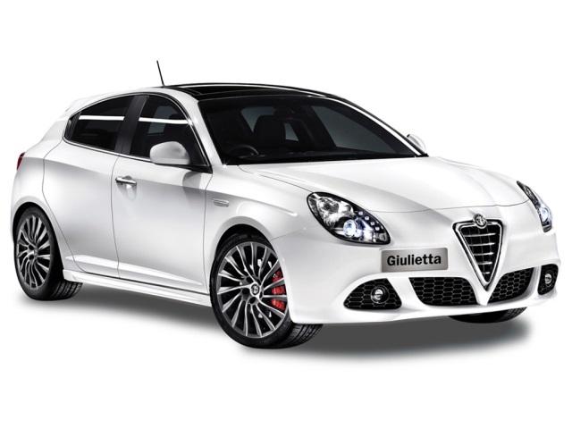 Solfilm til Alfa Romeo Giuiletta. Ferdig tilpasset solfilm til alle Alfa Romeo biler.