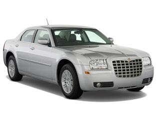 Solfilm til Chrysler 300 sedan. Ferdig tilpasset solfilm til alle Chrysler biler.