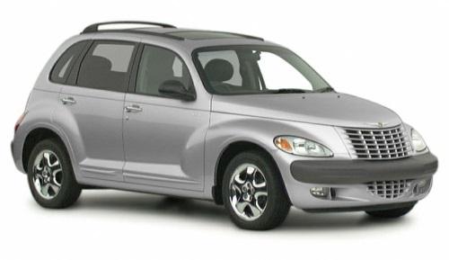 Solfilm til Chrysler PT Cruiser. Ferdig tilpasset solfilm til alle Chrysler biler.