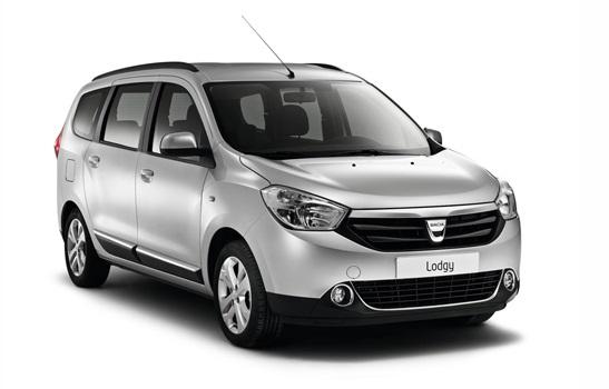 Solfilm til Dacia Lodgy. Ferdig tilpasset solfilm til alle Dacia biler.