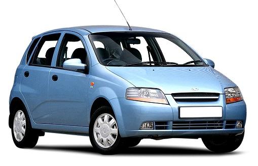 Solfilm til Daewoo Kalos. Ferdig tilpasset solfilm til alle Daewoo biler.
