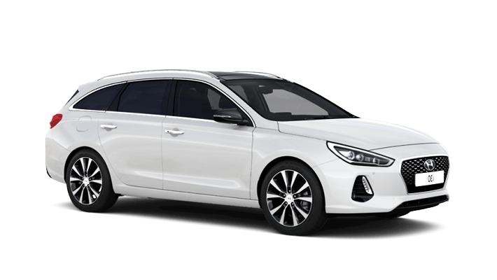 Solfilm til Hyundai i30 Stasjonsvogn. Ferdig tilpasset solfilm til alle Hyundai biler.