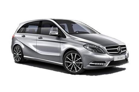 Solfilm til Mercedes B-Klass. Ferdig tilpasset solfilm til alle Mercedes biler.