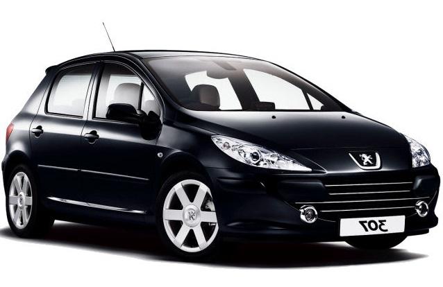 Solfilm til Peugeot 307 5-d. Ferdig tilpasset solfilm til alle Peugeot biler.