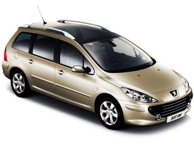 Solfilm til Peugeot 307 SW. Ferdig tilpasset solfilm til alle Peugeot biler.