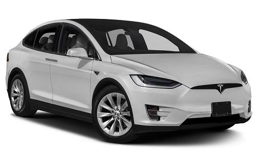 Solfilm til Tesla Model X. Ferdig tilpasset solfilm til alle Tesla biler.