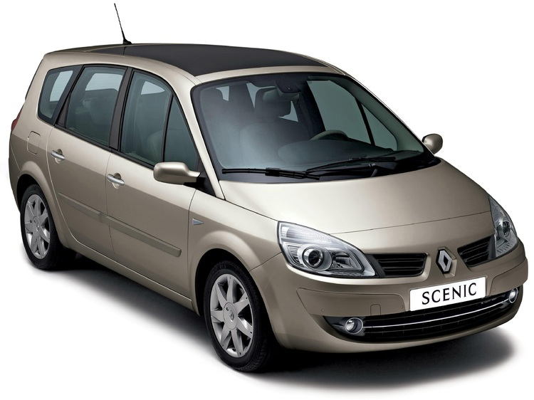 Solfilm til Renault Megane Scenic. Ferdig tilpasset solfilm til alle Renault biler.