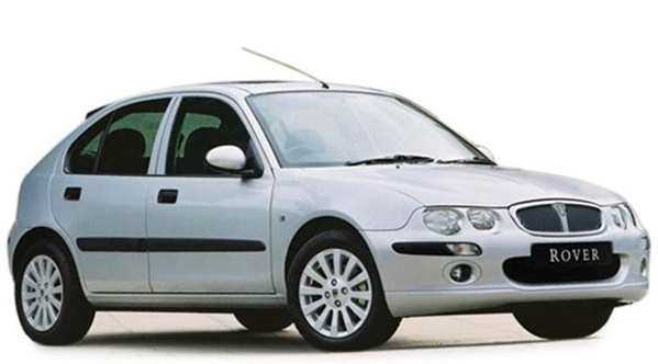 Solfilm til Rover 25 5-d. Ferdig tilpasset solfilm til alle Rover biler.