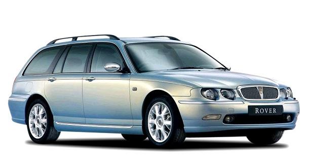 Solfilm til Rover 75 Estate. Ferdig tilpasset solfilm til alle Rover biler.