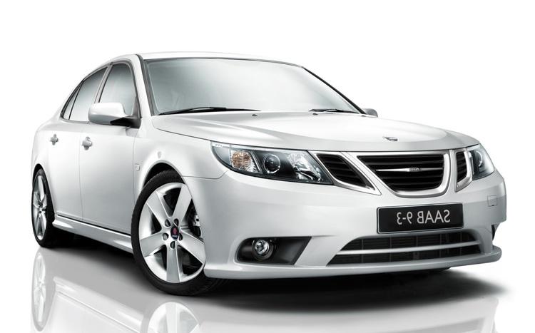 Solfilm til SAAB 9-3 sedan. Ferdig tilpasset solfilm til alle Saab biler.