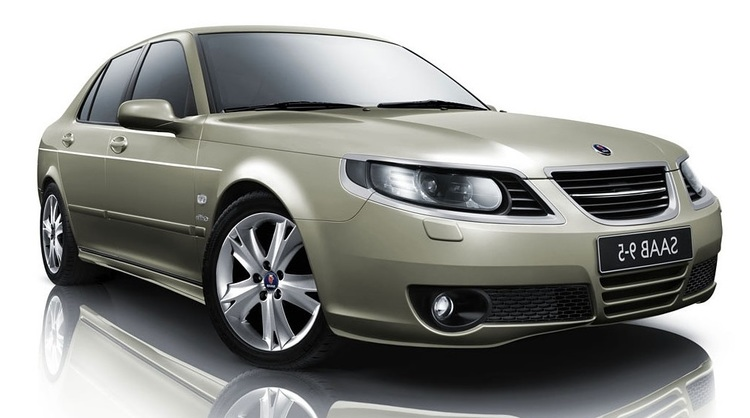 Solfilm til SAAB 9-5 sedan. Ferdig tilpasset solfilm til alle Saab biler.