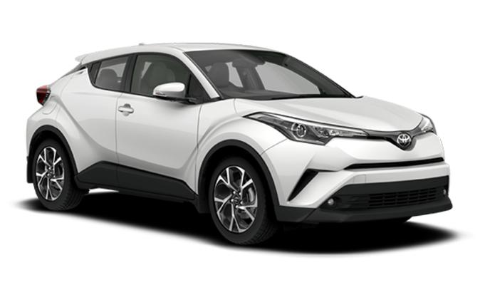 Solfilm til Toyota C-HR. Ferdig tilpasset solfilm til alle Toyota biler.