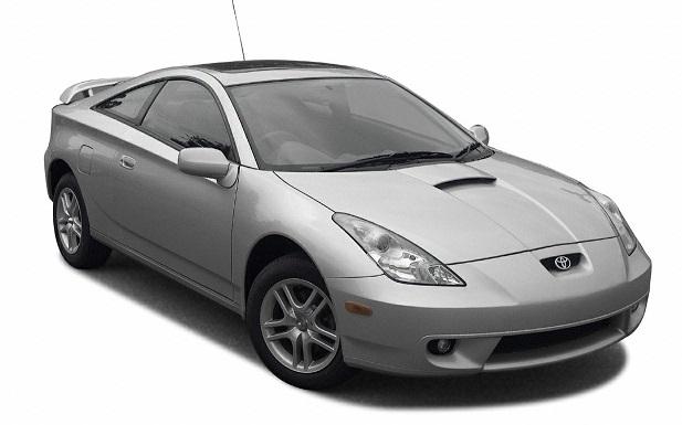 Solfilm til Toyota Celica. Ferdig tilpasset solfilm til alle Toyota biler.