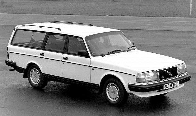 Solfilm til Volvo 245. Ferdig tilpasset solfilm til alle Volvo biler.