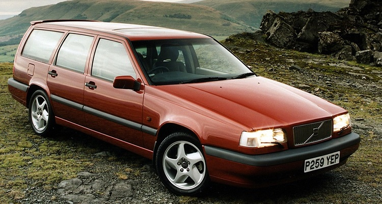 Solfilm til Volvo 855. Ferdig tilpasset solfilm til alle Volvo biler.