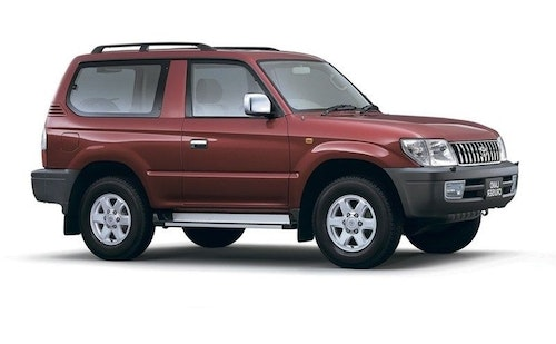 Toyota Land Cruiser 90 3-d