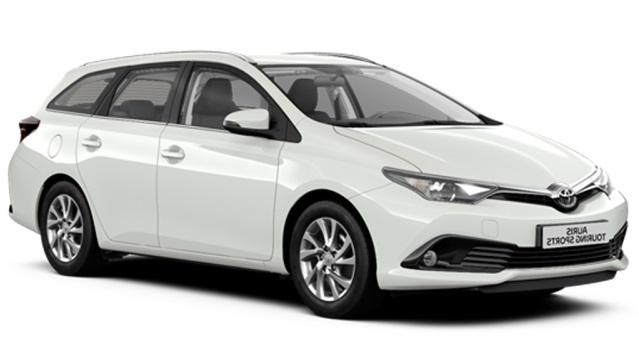 Solfilm til Toyota Corolla Touring Sports. Ferdig tilpasset solfilm til alle Toyota biler.