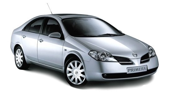 Solfilm til Nissan Primera sedan. Ferdig tilpasset solfilm til alle Nissan biler.